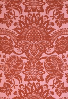 #Wallpaper design, from Nowton Court, England, 19th century | Shop now on surfaceview.co.uk