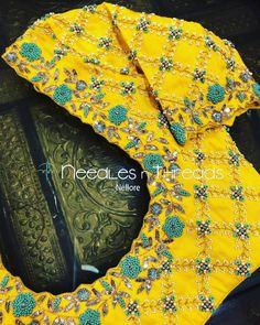 Cutwork Blouse Designs, Kids Blouse Designs, Hand Work Blouse Design, Simple Blouse Designs, Blouse Designs Catalogue, Stylish Blouse Design, Bridal Blouse Designs, Hand Designs, Traditional Blouse Designs