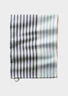 Striped Tea Towel.  Cute.