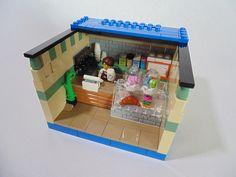 Habitat. Larry the Barista (S LegoMovie)