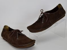 Clarks Originals Faraway Fields Women's Size 10 M Brown Suede Crepe Sole Shoes #Clarks #Oxfords #Casual