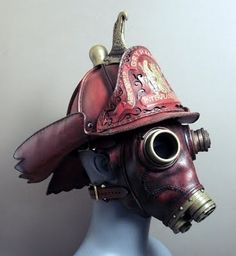 Steampunk fire fighter?