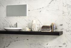 Bathroom tile / wall / porcelain stoneware / polished ANIMA STATUARIO VENATO CERAMICHE CAESAR