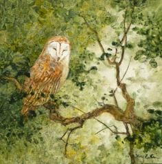 """Barn Owl"" by Floy Zittin"