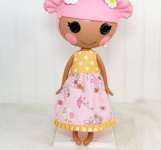 Lalaloopsy Doll Clothes Girl  Dress  little noel's doll house.