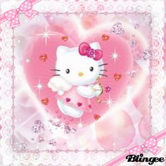hello kitty valentine cupid Animated Pictures for Sharing Melody Hello Kitty, Hello Kitty Art, Sanrio Wallpaper, Hello Kitty Wallpaper, Valentine Cupid, Animation Background, Sanrio Characters, Pretty Cats, Colors