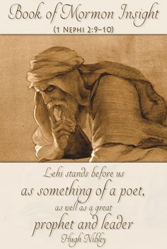 Could Lehi have been a poet? Hugh Nibley shows us the beautiful comparison between Lehi's words, and the poetry style of some desert Arabs. Learn more at http://www.knowhy.bookofmormoncentral.org/content/did-lehi-know-poetry-arabian-desert    #Lehi #Arabic #Poet #Knowhy #BookofMormon #LDS #Mormon