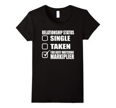 Markiplier Happy Wheels T Shirt - Female Large - Black