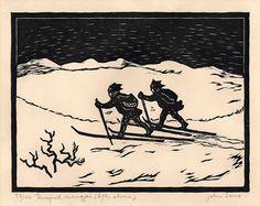 Category:Sami people in art - Wikimedia Commons Unexplained Mysteries, Art Of Love, Shall We Dance, Artsy Fartsy, Winter Wonderland, Printmaking, Folk Art, Moose Art, Drawings
