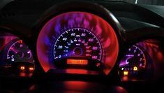 Pink dashboard Action Shot of LEDs in a Scion tC Dash Bugatti, Maserati, Buy Led Lights, Car Buying Tips, New Sports Cars, Sport Cars, Jaguar Xk, Car Mods, Future Car