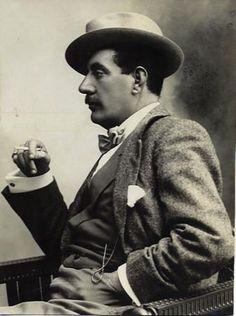 Giacomo Puccini, an Italian composer (1858-1924)