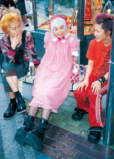 eBook-FRUiTS magazine No.014 Asian Street Style, Tokyo Street Style, Japanese Street Fashion, Tokyo Fashion, Harajuku Fashion, Tokyo Style, Fruits Magazine, Pretty Outfits, Cute Outfits