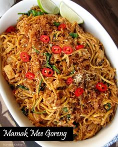 Recipe for Malaysian Mamak Mee Goreng from nomsieskitchen.com