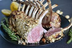 Check out this delicious recipe for Macadamia and Lemon Myrtle–Crusted Lamb from Weber—the world's number one authority in grilling. Weber Q Recipes, Lamb Recipes, Meat Recipes, Baked Gnocchi, Weber Bbq, Australian Food, How To Cook Steak, Myrtle, Cooking Time