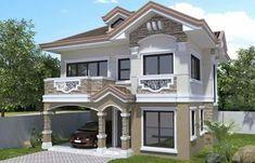 House Outside Design, House Front Design, Design Your Dream House, Modern Exterior House Designs, Dream House Exterior, Modern House Design, Two Story House Design, Classic House Design, Style At Home