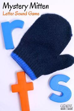 Mystery Mitten Game - A lively literacy game to build phonemic awareness and letter sound correspondence with a few simple materials. Perfect for preschoolers and kindergarteners. Preschool Letters, Learning Letters, Preschool Activities, Snow Activities, Language Activities, Winter Activities For Preschoolers, Creative Curriculum Preschool, Teaching Letter Sounds, Preschool Phonics