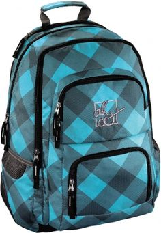 All Out Rucksack Louth Blue Dream Check