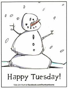 snowman Tues
