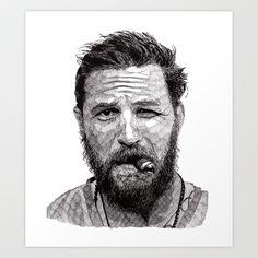 Tom Art Print by Rik Reimert - $20.00