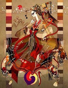 Kurukulla, goddess of love, wealth, and enchantment.