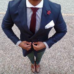 Antonio Ambrosio Mens Neckties & Pocket Squares - Menswear Fashion - Maroon Knitted Tie | OTAA.COM