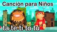 Canción ta te ti to tu - El Mono Sílabo - Videos Infantiles - Educación ...