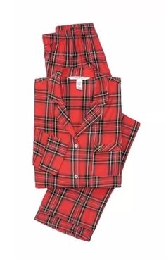 Victorias Secret The Flannel Pajama Set Size Xlarge  fashion  clothing   shoes  accessories 92d5c7f25
