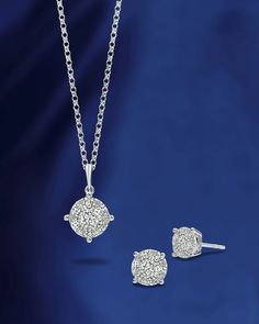 This Luminous pendant and earring set by A. Link Diamond Jewelry is a beautiful Mother's Day gift idea, at a great price point. Diamonds are pressure-set together to give the appearance of one stunning solitaire. Such a classic piece! For more gift ideas from the A. Link and Co collection of jewelry, please be sure to visit our site!!
