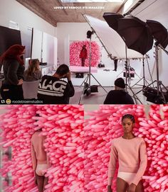 Thank you for sharing this cool BTS with us __________________ Repost BTS from this shoot by of getting creative in the Jett Daylight Studio. Art Direction: of H&M: of Model: of