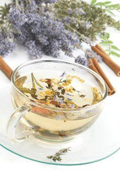 The ultimate comfort: herbal tea.