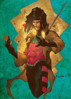 Gambit one of the coolest x-men!