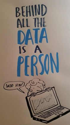 """""""Behind all the data is a person! #QualityImprovement #spspconf14"""""""