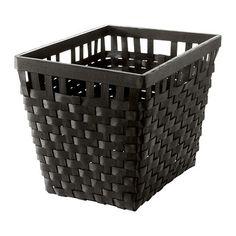 $15 ikea basket for bookshelves