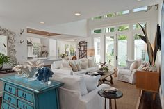 coastal living room | MHK Architecture and Planning