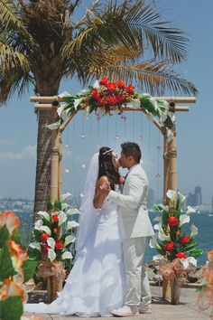 ideas for the wedding arch