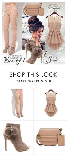 """""""Beautiful"""" by addfashion87 ❤ liked on Polyvore featuring Valentino and WALL"""