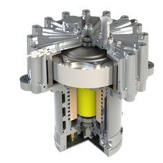 Steel flywheel for energy storage