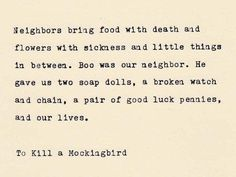 TO KILL A MOCKINGBIRD-2 - Harper Lee Quote Made On Typewriter, Typewriter Quote, Literary Quote, Famous Quotes by VintageTypedQuotes on Etsy