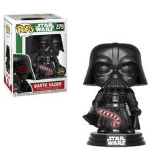 Purchase Funko POP - Star Wars - Holiday - Darth Vader Chase - Vinyl Collectible Figure from Partytoyz Inc. Share and compare all Toys. Darth Vader Star Wars, Darth Vader Christmas, Star Wars Christmas, Disney Christmas, Christmas Holiday, Star Wars Quotes, Star Wars Humor, Starwars, Biscuit