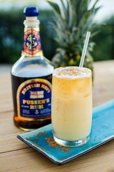 The Painkiller, invented in the Virgin Islands, is a favorite of bartenders and guests alike at The Ritz-Carlton, St. Thomas. With dark rum, orange and pineapple juices, cream of coconut and a sprinkle of fresh nutmeg, there's no more authentic taste of the tropics.