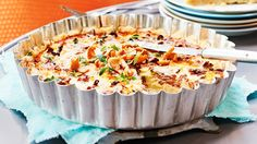Quiche, Mashed Potatoes, Macaroni And Cheese, Stuffed Mushrooms, Yummy Food, Cooking, Breakfast, Ethnic Recipes, Koti