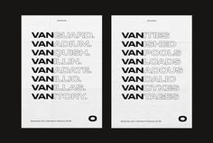 Picture of 8 designed by Luis Coderque for the project VAN O. Published on the Visual Journal in date 28 April 2017