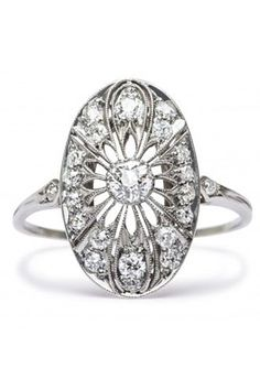 Vintage engagement rings and antique jewelry are our passion. Talk to a Trumpet & Horn concierge via live chat to find unique vintage engagement rings! Vintage Inspired Engagement Rings, Traditional Engagement Rings, Wedding Rings Vintage, Antique Engagement Rings, Antique Rings, Vintage Rings, Wedding Jewelry, Antique Jewelry, Vintage Jewelry