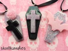 Hey, I found this really awesome Etsy listing at https://www.etsy.com/listing/201627453/pastel-goth-creepy-cute-resin-coffin