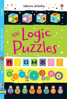 A handy, paperback book, packed with puzzles, games and activities that will put children's powers of logic to the test. #logic #maths #puzzle #book #usborne #activity #children