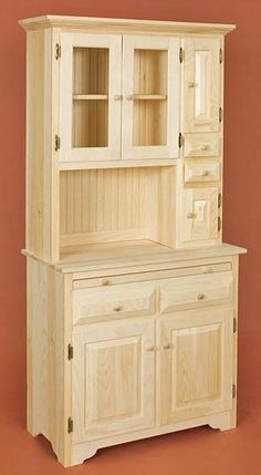 Unfinished Pine Furniture for Dinning Room: Holzarbeiten Amish Furniture, Handmade Furniture, Wooden Furniture, Furniture Plans, Kitchen Furniture, Furniture Makeover, Home Furniture, Furniture Design, Furniture Repair