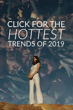 For your dreamy bridal look we've compiled seven 2019 wedding dress trends to elevate your dreamy bridal look. Check out the top bridal trends for Wedding Dress Trends, Best Wedding Dresses, The Chic, Bridal Looks, Romantic, Engagement, Hot, Romantic Things, Engagements