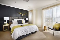 Homebuyers Centre - Phoenix Display Home Bedroom Bedroom Colours, First Home Buyer, Display Homes, Affordable Housing, Home Bedroom, Home Builders, Home Buying, Phoenix, Centre