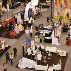 Tradeshow Floor. Catersource & Event Solutions Idea Factory.