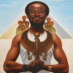 Maurice White by Kadir Nelson